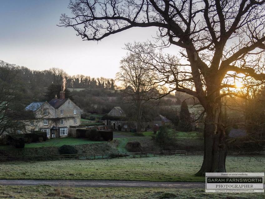 Overbury Village and Estate nr Tewkesbury -