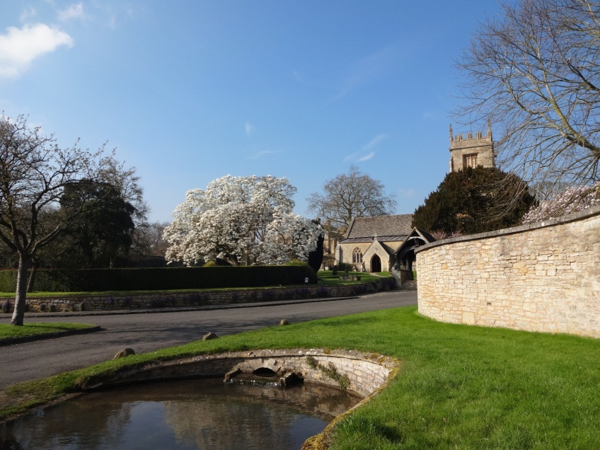 Overbury Village and Estate nr Tewkesbury -